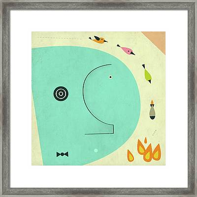 Post Traumatic Stress Disorder Framed Print by Jazzberry Blue