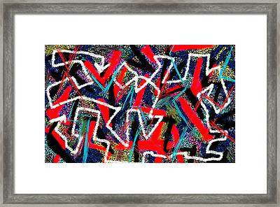 Post-truth Love And Betrayal Framed Print by Paul Sutcliffe
