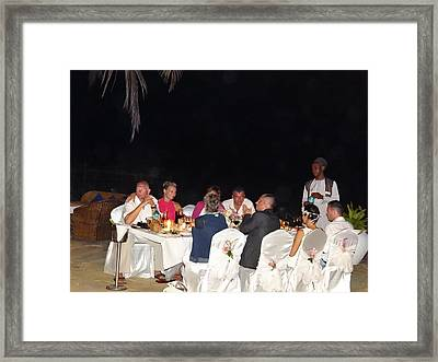Post Wedding Celebrations Framed Print