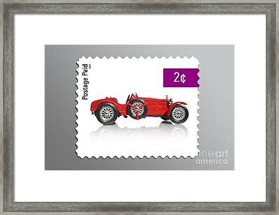 Postage Stamp Framed Print by Jorgo Photography - Wall Art Gallery