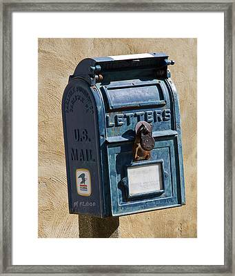 Postbox 61419 Framed Print