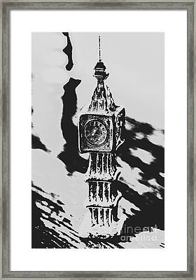 Postcards From Big Ben  Framed Print