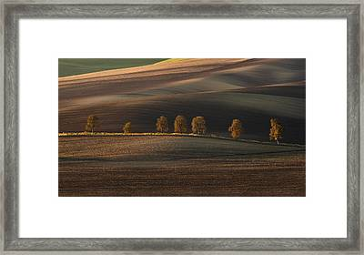 Postcards From Moravia Framed Print