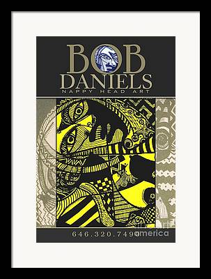 Robert Daniels Digital Art Framed Prints