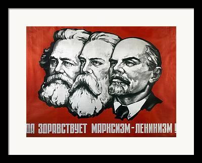 Marxists Framed Prints