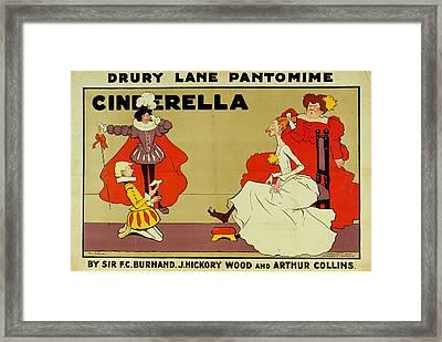 Poster For Cinderella Framed Print