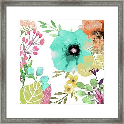 Posy II Framed Print by Mindy Sommers