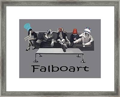 Pot Heads Framed Print by Anthony Falbo