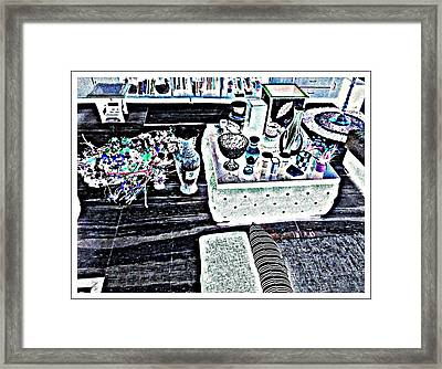 Pot Pouri Framed Print