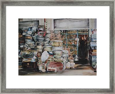 Pot-pourii Framed Print by P Anthony Visco