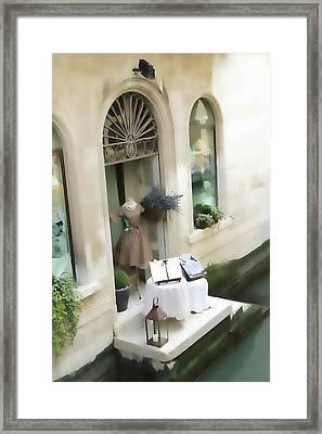 Pot Pourri Boutique Framed Print