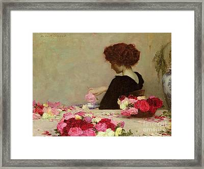 Pot Pourri Framed Print by Herbert James Draper