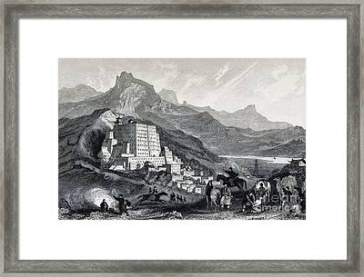Potala Palace, 19th Century Framed Print