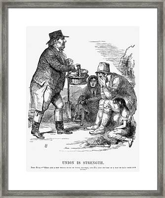 Potato Famine, 1846 Framed Print by Granger