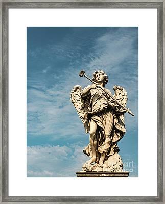 Potaverunt Me Aceto Framed Print by Joseph Yarbrough