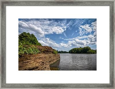Poteau River Framed Print by James Barber