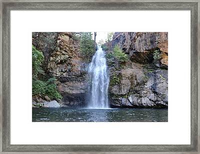 Potem Falls Framed Print