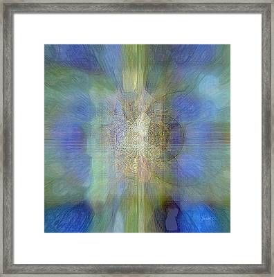 Potential Redefined Framed Print by Fania Simon