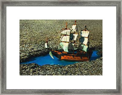 Pothole Pirate Framed Print