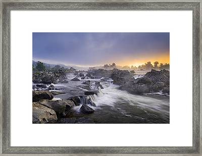 Potomac Light Framed Print