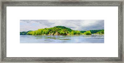 Framed Print featuring the photograph Potomac Palisaides by Francesa Miller