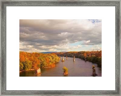 Potomac River Framed Print