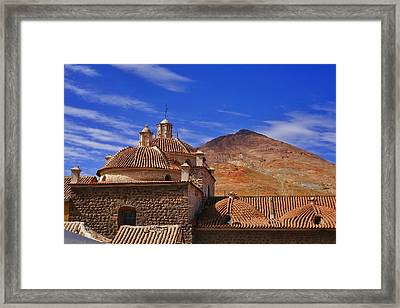 Potosi 6 Framed Print by Skip Hunt