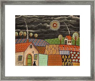 Potpourri Landscape Framed Print by Karla Gerard