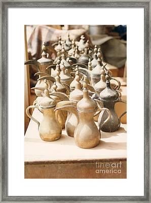 Pots For Sale Framed Print