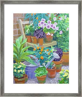 Pots Framed Print