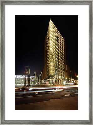 Potsdamer Place II Framed Print by Marc Huebner
