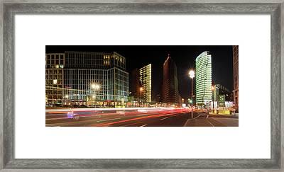 Potsdamer Place Framed Print by Marc Huebner