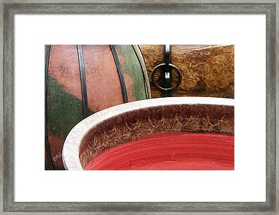 Pottery Abstract Framed Print by Ben and Raisa Gertsberg
