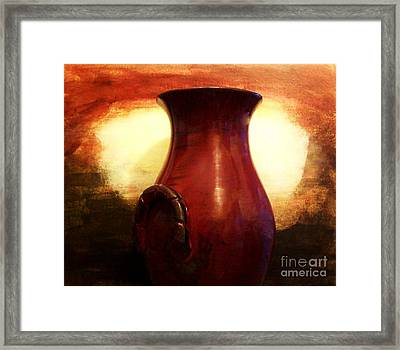 Pottery From Italy Framed Print