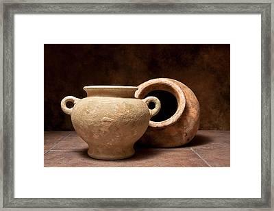 Pottery II Framed Print by Tom Mc Nemar