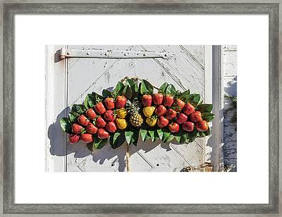 Potting Shed Decor Framed Print