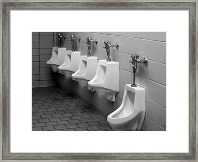 Potty Potty Framed Print by John Adams