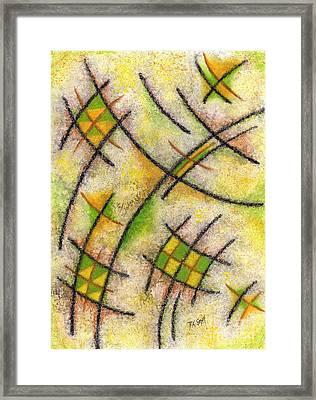Pound Inkling Framed Print