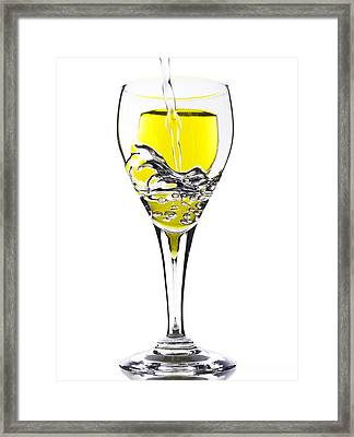 Pour Me One Framed Print