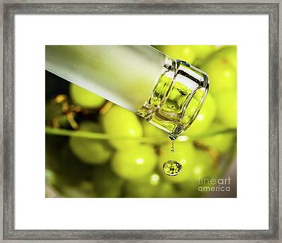 Pour Me Some Vino Framed Print