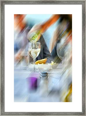 Pour Me One More Framed Print by Diana Angstadt