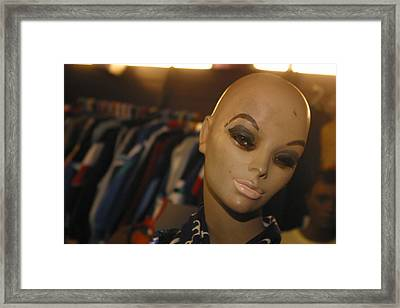 Pout Framed Print by Jez C Self