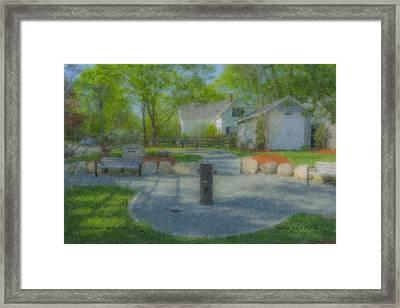 Povoas Park Framed Print