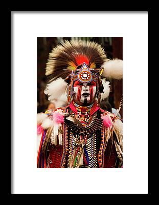Powwow Framed Prints