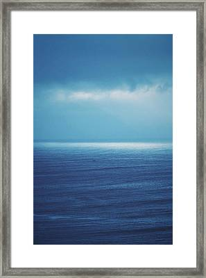 Powder Blue Framed Print by Skip Hunt