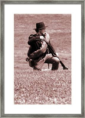 Powder Cartridge Framed Print by Jame Hayes
