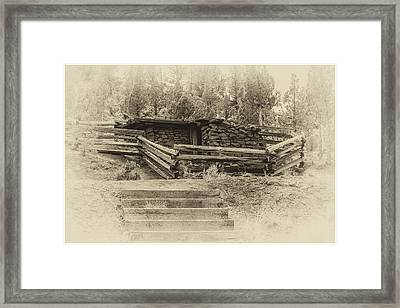 Powder House Framed Print by Joe Hudspeth