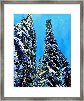 Powder Kings Framed Print
