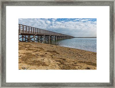 Powder Point Bridge Framed Print