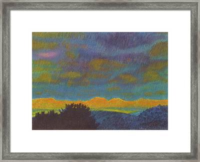 Powder River Reverie, 2 Framed Print